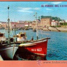 Postales: POSTAL DE FERROL MUELLE CONCEPCION ARENAL BONITAS VISTAS VER FOTOS QUE NO TE FALTE EN TU COLECCION. Lote 49766148