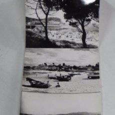 Postales: ALBUM DESPLEGABLE DE FOTO POSTALES DE BAYONA (PONTEVEDRA), ARTIGOT EDICIONES, TIENE10 POSTALES, EXCE. Lote 49976332
