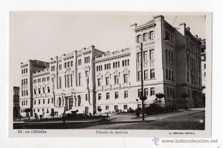LA CORUÑA. PALACIO DE JUSTICIA. (Postales - España - Galicia Moderna (desde 1940))