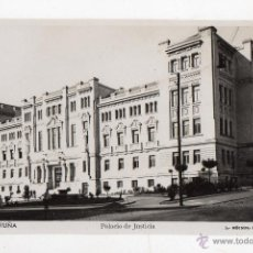 Postales: LA CORUÑA. PALACIO DE JUSTICIA. . Lote 50025741