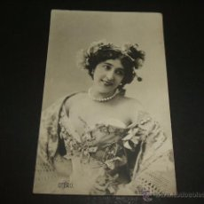 Postales: BELLA OTERO AGUSTINA OTERO IGLESIAS VALGA PONTEVEDRA ACTRIZ POSTAL 1906. Lote 50493779