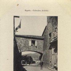 Postales: ESPAÑA COLECCION ARTISTICA - RRR - POSTAL VILLAGARCIA VILAGARCIA PONTEVEDRA - BAZAR NARCISO GONZALEZ. Lote 50960083