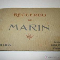 Postales: MARÍN, PONTEVEDRA, CARNET DE 12 POSTALES, EDICIÓN CASA VIÑAS, VER FOTOS. Lote 51153235