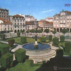 Postales: PONTEVEDRA - PLAZA DE ORENSE. Lote 51168777