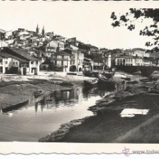 Postales: BETANZOS - VISTA PARCIAL DEL RÍO Y PUENTE NUEVO - Nº 7 ED. ARRIBAS. Lote 51201922