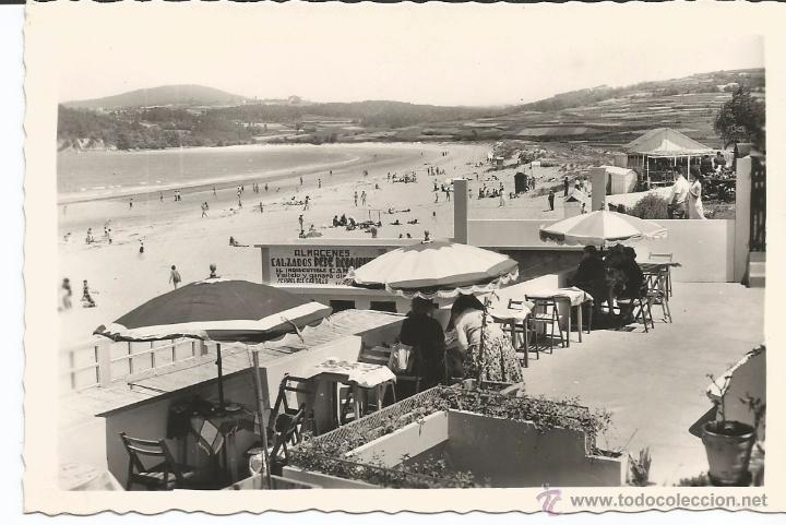 BETANZOS (MIÑO) - PLAYA GRANDE - Nº 73 ED. ARRIBAS (Postales - España - Galicia Moderna (desde 1940))