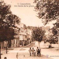 Postales: POSTAL DE CORCUBION AÑOS 10 IMPECABLE DE TANARRO - LA CORUÑA - A CORUÑA - UN RINCON DE LA PLAZA. Lote 51428829