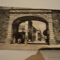 Postales: LUGO CALLE DEL OBISPO AGUIRRE GARCIA GARRABELLA CIRCULADA AÑO 1957. Lote 51457435