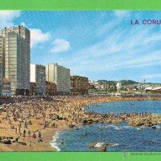 Postales: TARJETA POSTAL. PLAYA DE RIAZOR. SIN CIRCULAR.. Lote 51566421