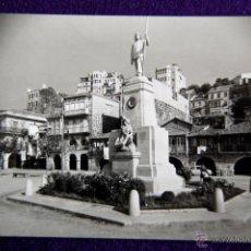 Postales: POSTAL DE VIGO (PONTEVEDRA). MONUMENTO AL PESCADOR EN EL BERBÉS. AÑOS 50.. Lote 51797100