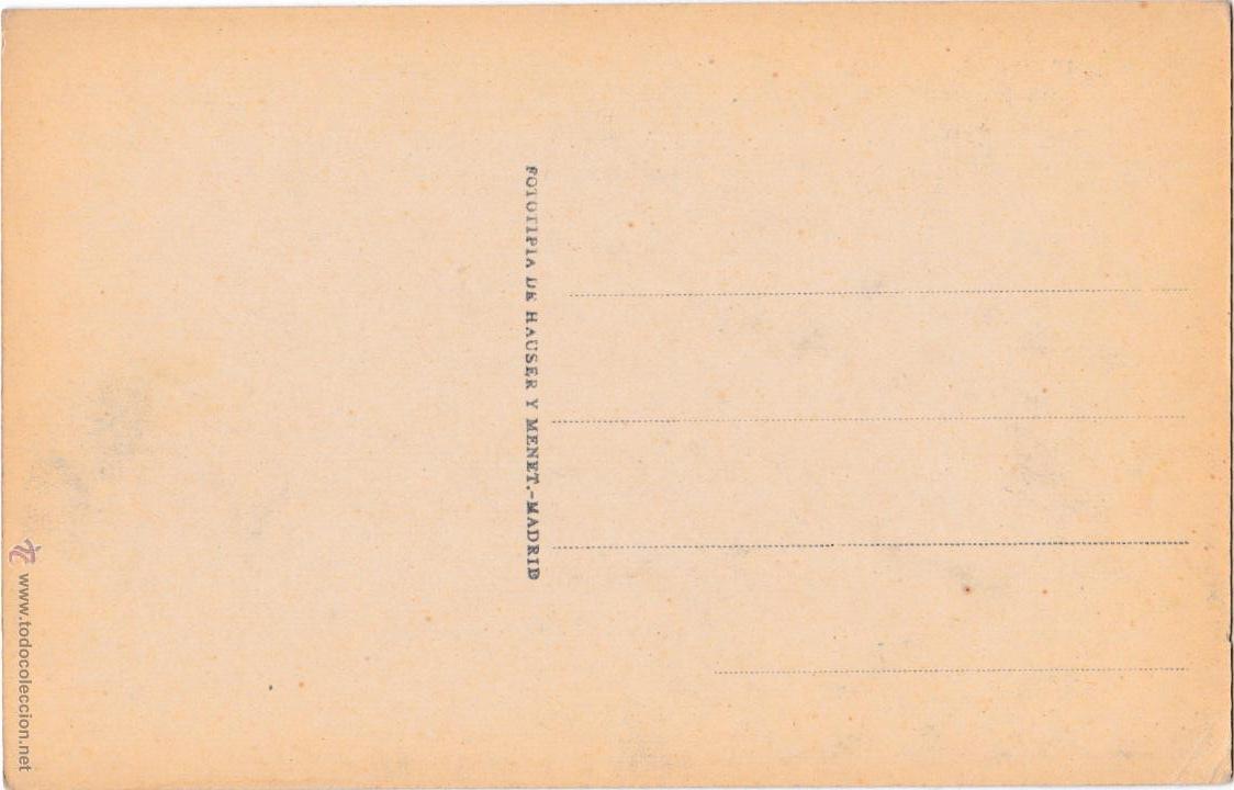 Postales: P- 2811. POSTAL LA CORUÑA. MONUMENTO A LINARES RIVAS. - Foto 2 - 51927107