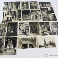 Postales: P- 2853. LOTE DE 21 POSTALES SANTIAGO DE COMPOSTELA. ED. ARTIGAS.. Lote 52167261