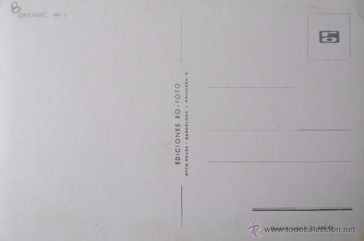 Postales: ORENSE: EDICIONES RO-FOTO Nº 3 - Foto 2 - 52277620