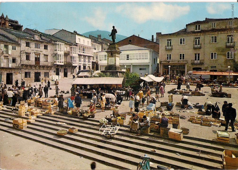 Viveiro plaza del caudillo comprar postales antiguas de - Fotos de viveiro lugo ...