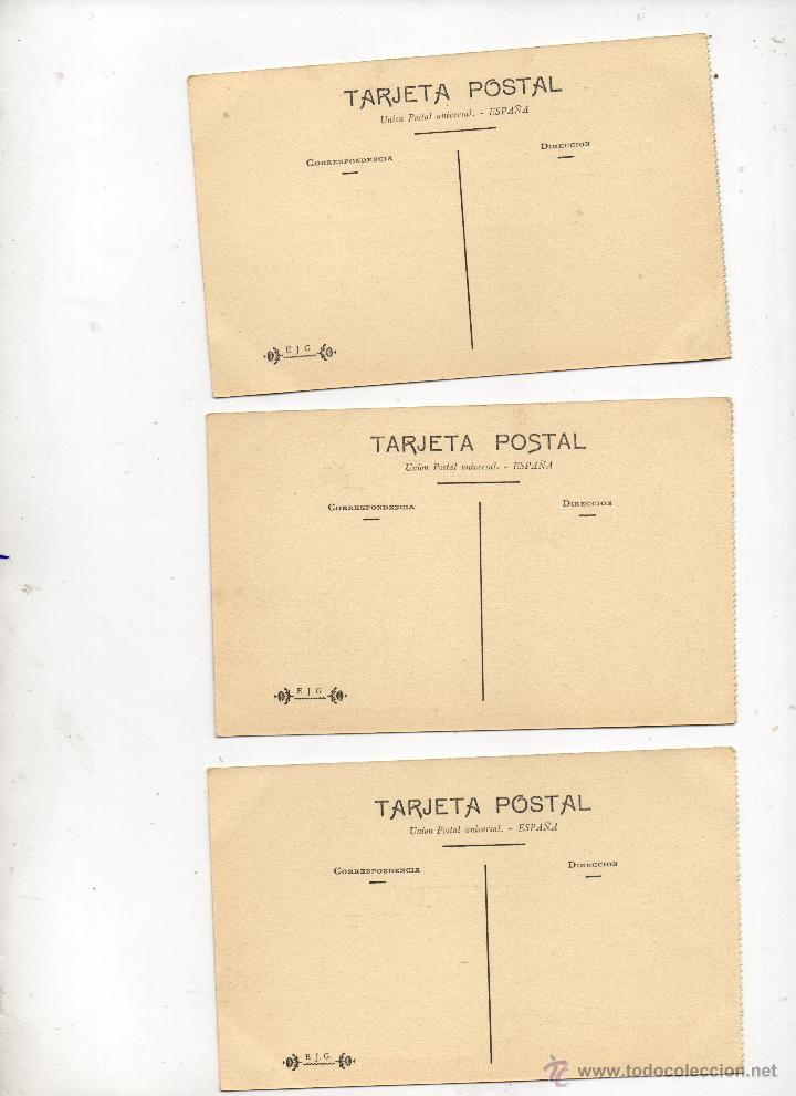 Postales: 9 postales de herreros de ribera, muy posiblemente de Ferrol (La Coruña). Año 1909. Muy raras. - Foto 4 - 52480713