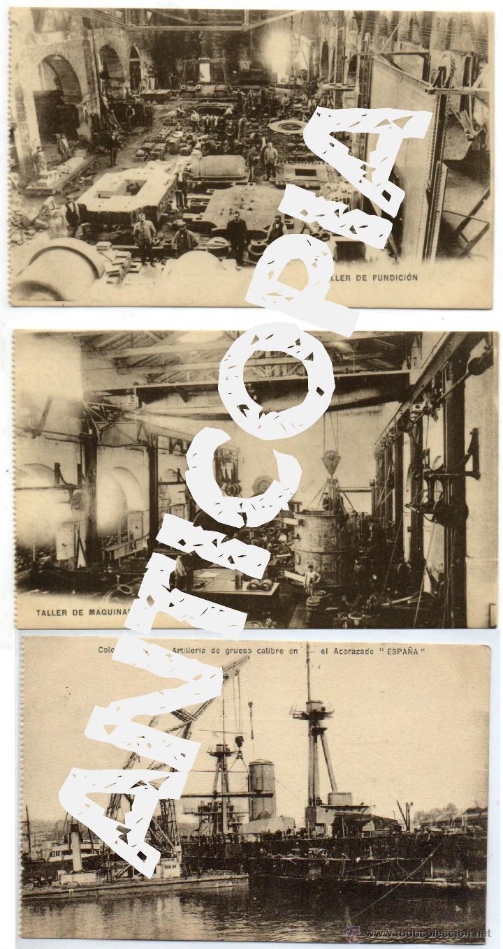 Postales: 9 postales de herreros de ribera, muy posiblemente de Ferrol (La Coruña). Año 1909. Muy raras. - Foto 5 - 52480713