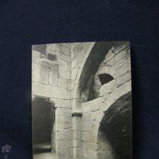Postales: POSTAL GALICIA 17 SANTIAGO DE COMPOSTELA EXCAVACIONES DEL ANTIGUO PALACIO DE GELMIREZ FOT THOMAS. Lote 227049790