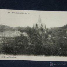 Postales: POSTAL GALICIA PASATIEMPO BETANZOS 18 PABELLON Y VISTA PARCIAL NO FOT NO EDIT. Lote 227049215