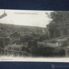 Postales: POSTAL GALICIA PASATIEMPO BETANZOS 5 JARDIN DORMITORIO NO FOT NO EDIT. Lote 227048875