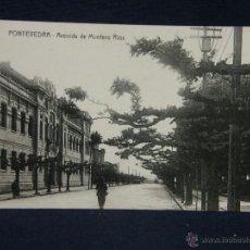 Postales: POSTAL GALICIA AVENIDA DE MONTERO RIOS NO EDIT NO FOT. Lote 227048590