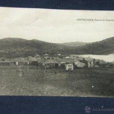 Postales: POSTAL GALICIA ORTIGUEIRA PUERTO DE ESPASANTE E. J. G. PARIS IRUN. Lote 52619756