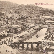 Postales: REDONDELA ( VIGO ) VISTA GENERAL EDICIÓN J. BUCETA - VIGO SIN CIRCULAR. Lote 52732225