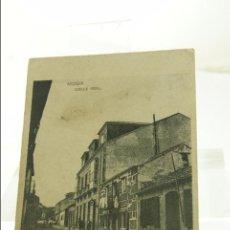 Postales: RARISIMA POSTAL DE MUGIA (MUXIA) A CORUÑA AÑO 1930. Lote 52819599