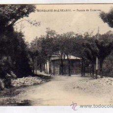 Postales: MONDARIZ. BALNEARIO. FUENTE DE TRONCOSO. SIN CIRCULAR.. Lote 52878705