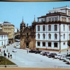 Postales: LUGO - JARDINES E IGLESIA DE SAN FROILAN. Lote 53182678