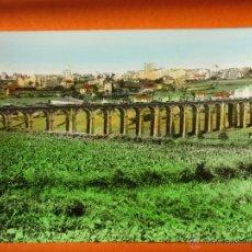 Postales: POSTAL - LUGO - VIADUCTO DE LA CHANCA Y VISTA PARCIAL COLOREADA - ED. ARRIBAS - NO CIRCULADA . Lote 53205792