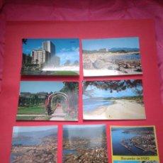 Postales: LOTE DE 7 POSTALES DE VIGO. PONTEVEDRA. AÑOS 60 Y 70.. Lote 53238978
