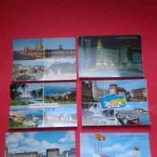 Postales: LOTE DE 6 POSTALES DE FERROL. AÑOS 70.. Lote 53254993