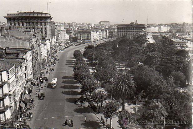 CORUÑA - 5 AVENIDA DE LOS CANTONES (Postales - España - Galicia Moderna (desde 1940))