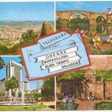 Postales: ORENSE. Lote 53394545
