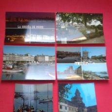 Postales: LOTE DE 6 POSTALES DE LA CORUÑA. AÑOS 70.. Lote 53447184