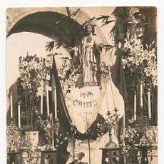 Postales: TARJETA POSTAL FOTOGRÁFICA. ALTAR DE DESAGRAVIO POR PERSECUCIÓN EN MEJICO. MONDOÑEDO. GALICIA..1928. Lote 53451229