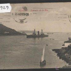 Postales: FERROL - ENTRADA DE LA RIA - (39929). Lote 53733576