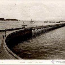 Postales: VILLAGARCIA DE AROSA--PUERTO.-ROISIN-1935- MUY RARA-5. Lote 53770072