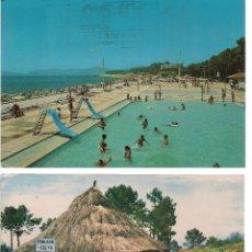 Postales: 2 POSTALES DE GALICIA (VIGO, LA GUARDIA). Lote 54554439