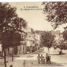 Postales: PS6099 CORCUBIÓN 'UN RINCÓN DE LA PLAZA'. FOTO TANARRO. SIN CIRCULAR. PRINC. S. XX. Lote 52549866