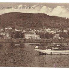 Postales: PS6102 CORCUBIÓN 'UN DETALLE DE LA RÍA'. FOTO TANARRO. SIN CIRCULAR. PRINC. S. XX. Lote 52550382