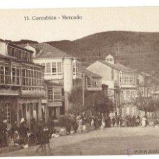 Postales: PS6105 CORCUBIÓN 'MERCADO'. FOTO TANARRO. SIN CIRCULAR. PRINC. S. XX. Lote 52550635