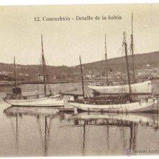 Postales: PS6106 CORCUBIÓN 'DETALLE DE LA BAHIA'. FOTO TANARRO. SIN CIRCULAR. PRINC. S. XX. Lote 52550775
