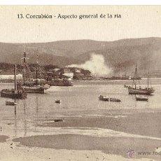 Postales: PS6107 CORCUBIÓN 'ASPECTO GENERAL DE LA RÍA'. FOTO TANARRO. SIN CIRCULAR. PRINC. S. XX. Lote 52550837