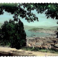Postales: PS5828 VIGO 'VISTA PARCIAL DESDE EL MONTE EL CASTRO'. ARTIGOT. SIN CIRCULAR. AÑOS 40. Lote 49508798