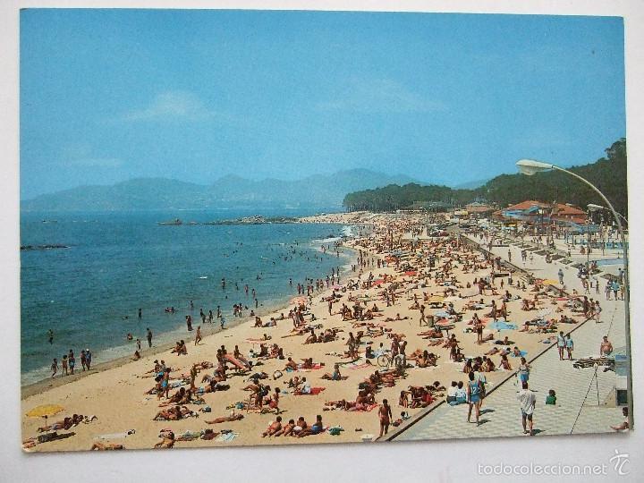 POSTAL PONTEVEDRA -VIGO - PLAYA DE SAMIL - 1988 - FAMA 3109 - SIN CIRCULAR (Postales - España - Galicia Moderna (desde 1940))