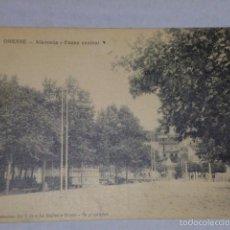 Postales: ORENSE.- ALAMEDA - PASEO CENTRAL-. Lote 55426944
