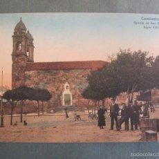 Postales: CAMBADOS (PONTEVEDRA) IGLESIA SE SAN BENITO SIGLO XVIII. Lote 55702949
