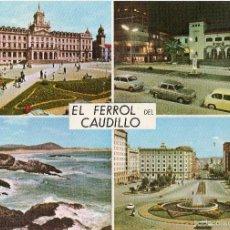 Postales: EL FERROL DEL CAUDILLO. Lote 55888836