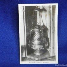 Postales: POSTAL FOTO SANTIAGO CATEDRAL EL BOTAFUMEIRO . Lote 56509471